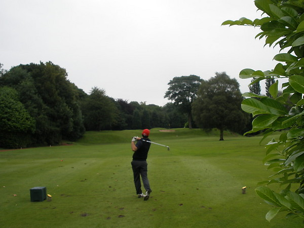 John heading for another steady round.